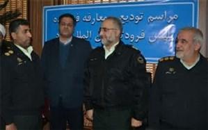 فرمانده جدید پلیس فرودگاه یزد معرفی شد