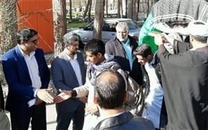 آغاز مرحله دوم اعزام دانش آموزان پسرسیستان وبلوچستان به اردوهای راهیان نور