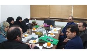 برگزاری جلسه شورای رفاهی و مالی منطقه یک