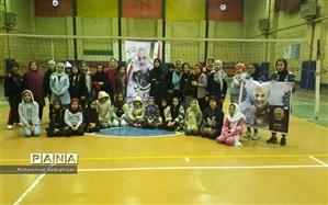 مسابقات بین کانونی والیبال نشاط  در منطقه19