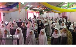 برگزاری جشن تکلیف 10 هزار دانش آموز دختر در شیراز