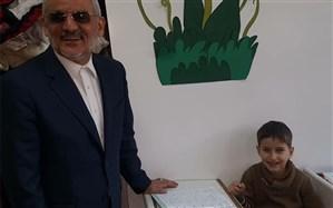 بازدید وزیر آموزشوپرورش از مجتمع آموزشی جمهوری اسلامی ایران در دمشق +تصویر