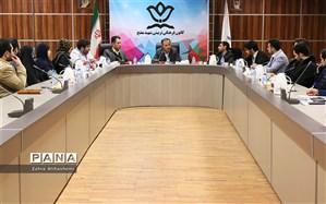 برگزاری جلسه شورای مشورتی جوانان شهرستان تهران در کانون مفتح