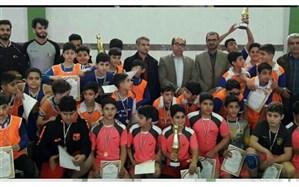  اختتامیه لیگ بسکتبال دانش آموزی محمودآباد برگزار شد