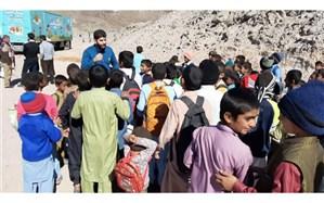 «پیک امید» مازندران به کودکان سیستان لبخند میبخشد