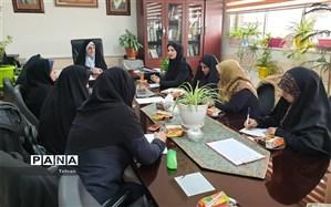 برگزاری جلسات اتاق فکر معاونت آموزش ابتدایی منطقه11