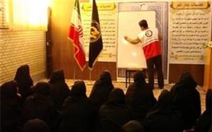 بانوان شاغل از آموزش کمک های اولیه هلال احمر زنجان بهره مند شدند