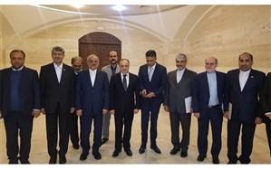 دیدار وزیر آموزش و پرورش با نخست وزیر سوریه