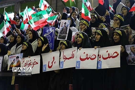 مانور یاوران انقلاب در شهرستان سمنان