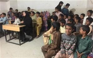 محموله کمکهای اهدایی اداره کل آموزش و پرورش شهرستانهای استان تهران درسیستان و بلوچستان