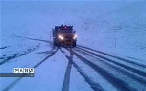 برف روبی و بازگشایی راه ارتباطی ۵۴۲ روستای اردبیل