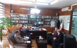 جلسه اداره کل شهرتهران برای اعزام تیم سنجش نیازهای کنارک، بنت و زرآباد