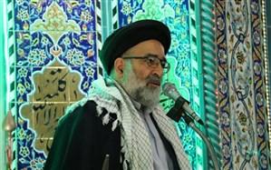 امام جمعه موقت ورامین: امروز آمریکا درگرداب گرفتار شده که هر چقدر هم دست و پا بزند بیشتر غرق خواهد شد