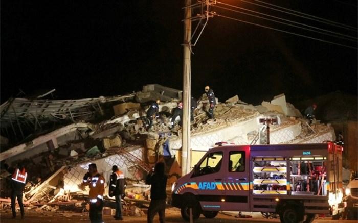 تصاویر مختلف از لحظه وقوع زلزله در ترکیه