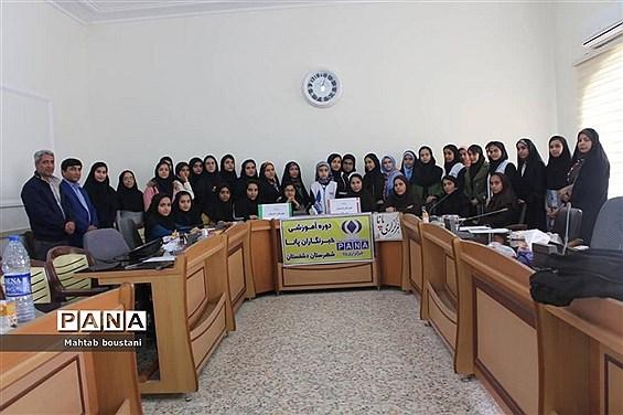 کارگاه آموزش خبرنگاری ویژه خبرنگاران پانا دشتستان