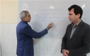 حمایتهای مجدانه فرماندار شهرستان کرمانشاه از طرح شتاب بخشی سوادآموزی