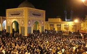 برگزاری آیین تشییع نمادین حضرت زهرا(س) درشهرستان ورامین