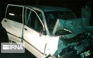 حادثه رانندگی در مهریز یک کشته و ۲ زخمی بر جا گذاشت