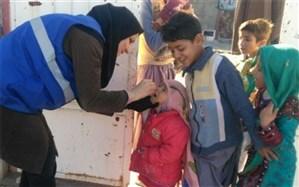 پایان عملیات مرحله اول واکسیناسیون تکمیلی فلج اطفال با پوشش 100 درصدی کودکان زیر 5 سال
