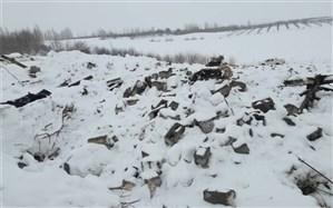 کمک خودجوش مردم به خسارتدیدگاه سقوط بهمن در سیلوانای ارومیه