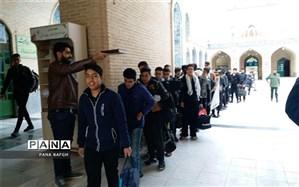 اعزام دانش آموزان بافقی به اردوی راهیان نور جنوب کشور