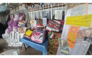 جمع آوری کمک های دانش آموزان و فرهنگیان تربت حیدریه برای مردم سیل زده سیستان و بلوچستان در قالب پویش مهربانی