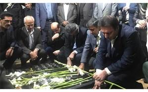 تجدید میثاق معاون آموزش متوسطه آموزش و پرورش با آرمانهای شهدای انقلاب اسلامی در کرمان