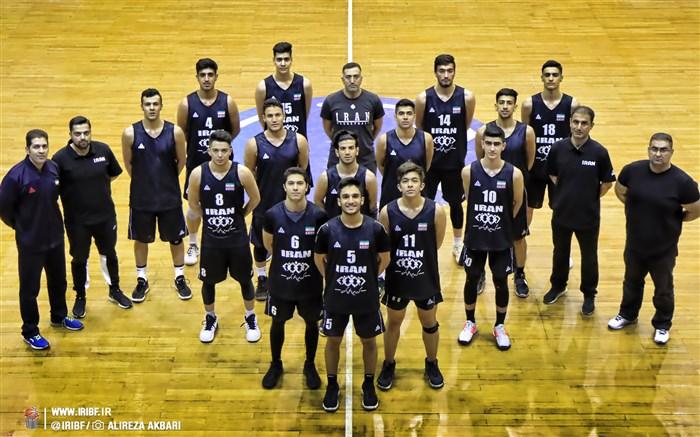 اردوی تیم ملی بسکتبال نوجوانان