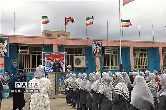 مراسم سیل مهربانی هم کلاسی ها در شهرستان امیدیه
