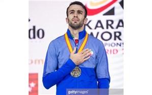 طلای رقابت های جهانی بر گردن کاراته کای قزوینی