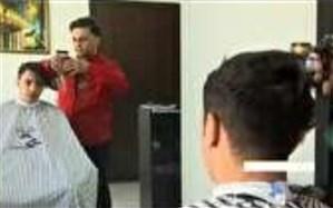 اقدام زیبا و ارزشمند جمعی از آرایشگران یزدی + فیلم