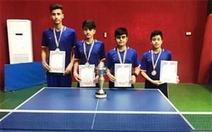 نایب قهرمانی تیم دانش آموزی شهرستان جم در مسابقات استانی