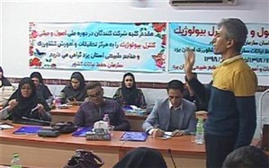 آموزش کنترل تلفیقی عوامل خسارت زای محصولات گلخانهای در یزد