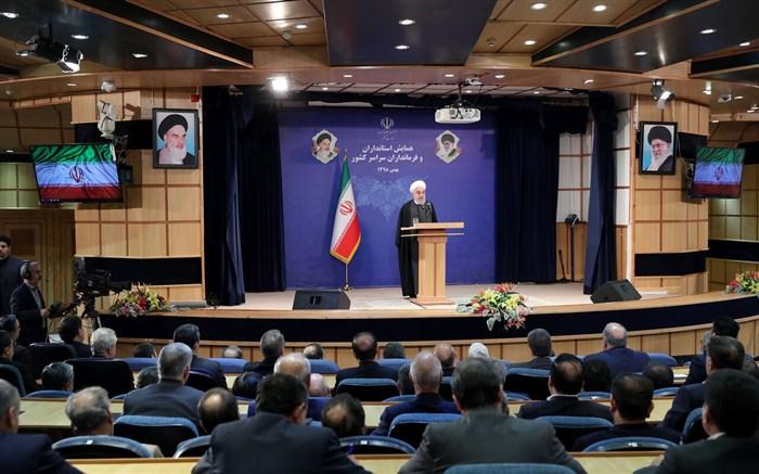 روحانی: بگذارید روز انتخابات همه با هم باشیم