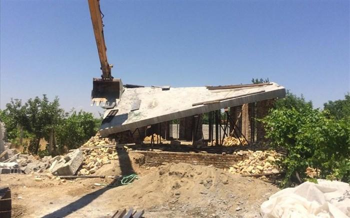 40  سازه غیرمجاز باغ شهرها در هفته جاری تخریب شدند