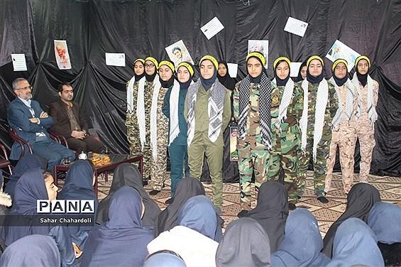 مراسم بزرگداشت سردار سلیمانی در مدرسه زینب کبری (س)