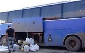 توقیف اتوبوس حامل ۷۰۰ میلیون ریال کالای قاچاق در ماکو