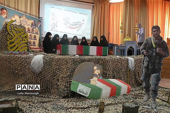 یادواره شهدای مدافع حرم و شهدای منصوب به مدارس شاهد در تبریز