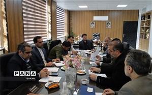 جلسه بررسی روند اجرای طرح شهاب منطقه 12