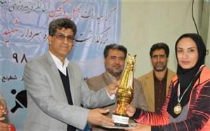 درخشش تیم والیبال بانوان گناوه در جشنواره ورزشی فرهنگیان بسیجی آموزش و پرورش استان بوشهر