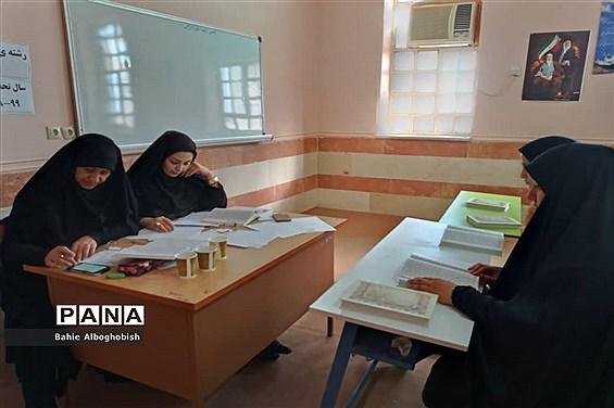 برگزاری مسابقات قرآن،عترت و نمازمرحله شهرستانی  دانش آموزان متوسطه اول ودوم حمیدیه