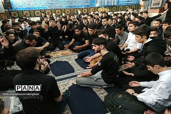 برگزارى مراسم عزاداری شهادت حضرت زهرا(س) درشهرستان بهارستان
