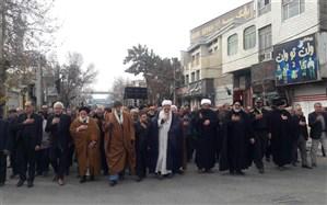 عزاداری  مردم شهرستان ورامین به مناسبت سالروز شهادت حضرت زهرا (س)
