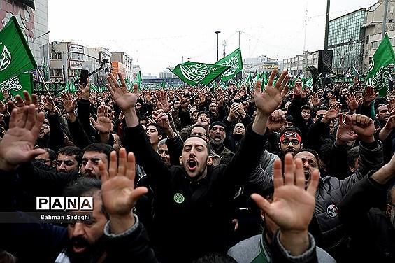 اجتماع عاشورای فاطمی در میدان هفت تیر