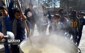 مراسم شهادت حضرت زهرا(س) در دبستان شهید محمود فلاحزاده ابرکوه