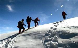 صعود بیش از ۲۰۰ کوهنورد از سراسر کشور به قله سبلان در اردبیل