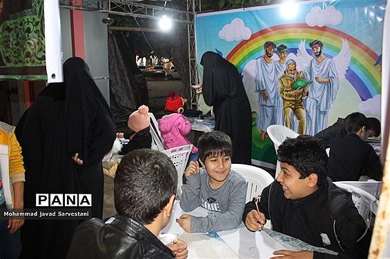 موکب بانوی بی حرم و غرفه نقاشی  فاطمیه در بوشهر