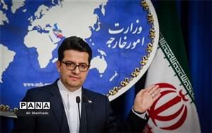 موسوی: بیش از ۳۰ کشور و سازمان به دولت و ملت ایران کمک کردند