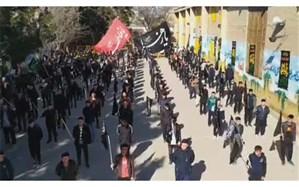 همخوانی دانشآموزان مشهدی برای شهادت حضرت زهرا(س)