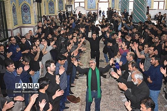 تجمع فاطمیون بهاباد با حضور هیاتهای مذهبی برگزار شد